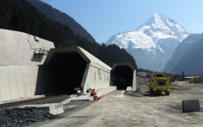 AlpTransit Gotthard, túnel de la base de Gotthard